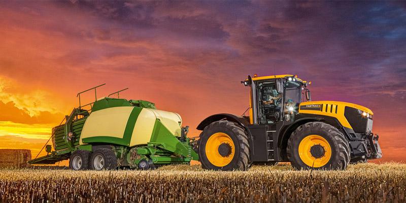 Die JCB Landwirtschaft.
