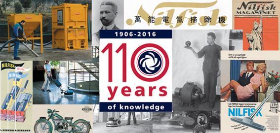Nilfisk 110 Jahre Geschichte
