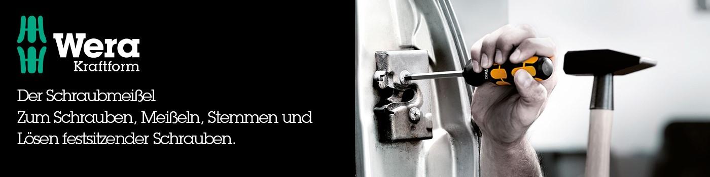 Der Schraubmeißel - Zum Schrauben, Meißeln, Stemmen und Lösen festsitzender Schrauben.